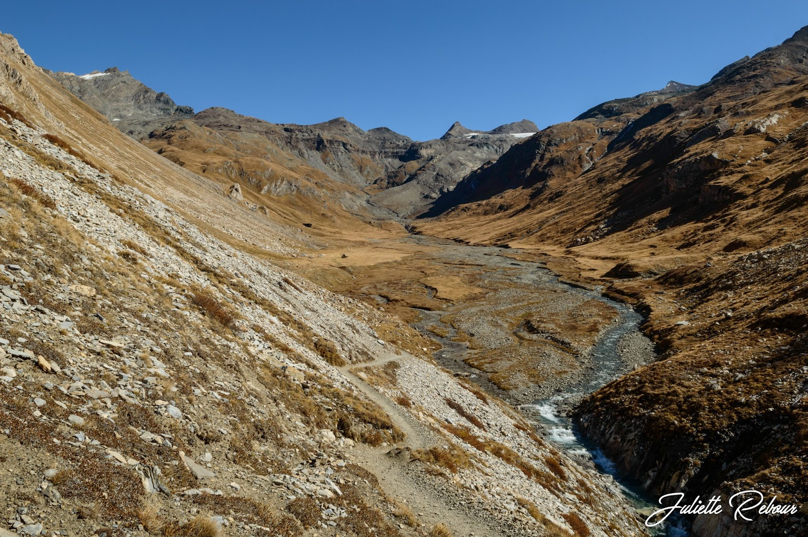La plaine du Prariond, Parc National de la Vanoise