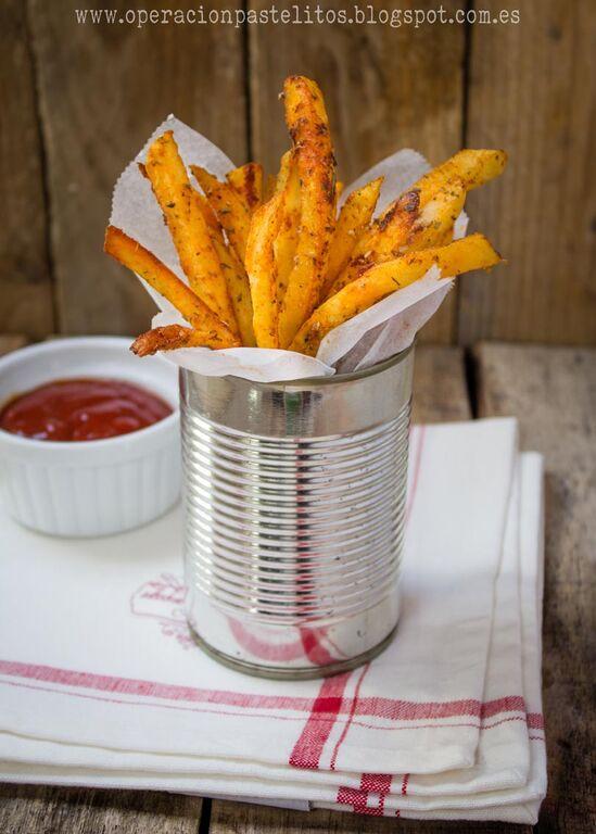 patatas-fritas-hierbas-aromaticas