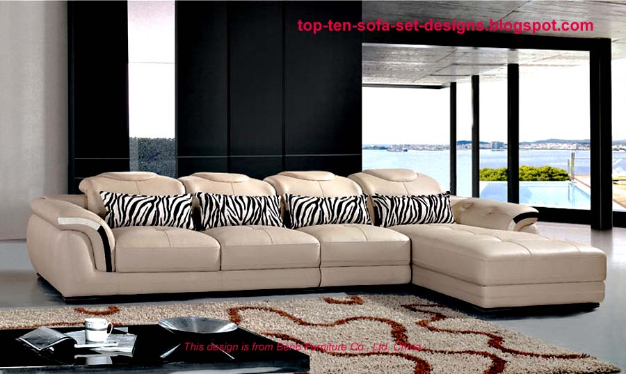 Top Ten Sofa Set Designs From China