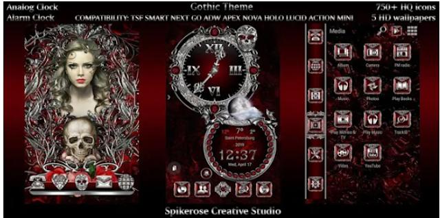 gothic theme apk