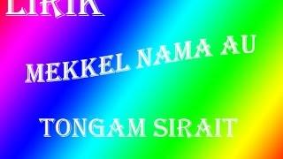Chord Lagu Batak : Mekkel Nama Au - Tongam Sirait