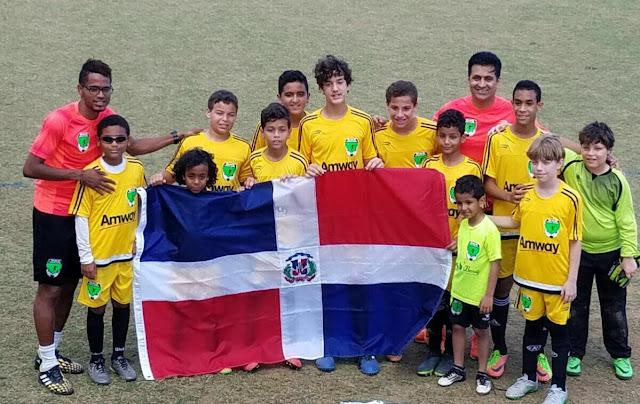 Bob Soccer School, campeón Copa Corazón Criollo Internacional en Puerto Rico