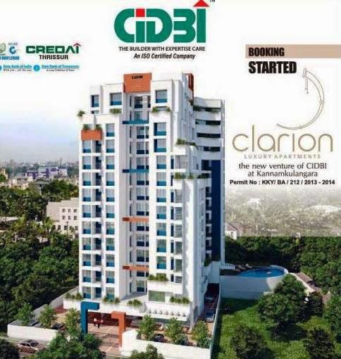 CIDBI Clarion Apartments, Kannamkulangara, Thrissur