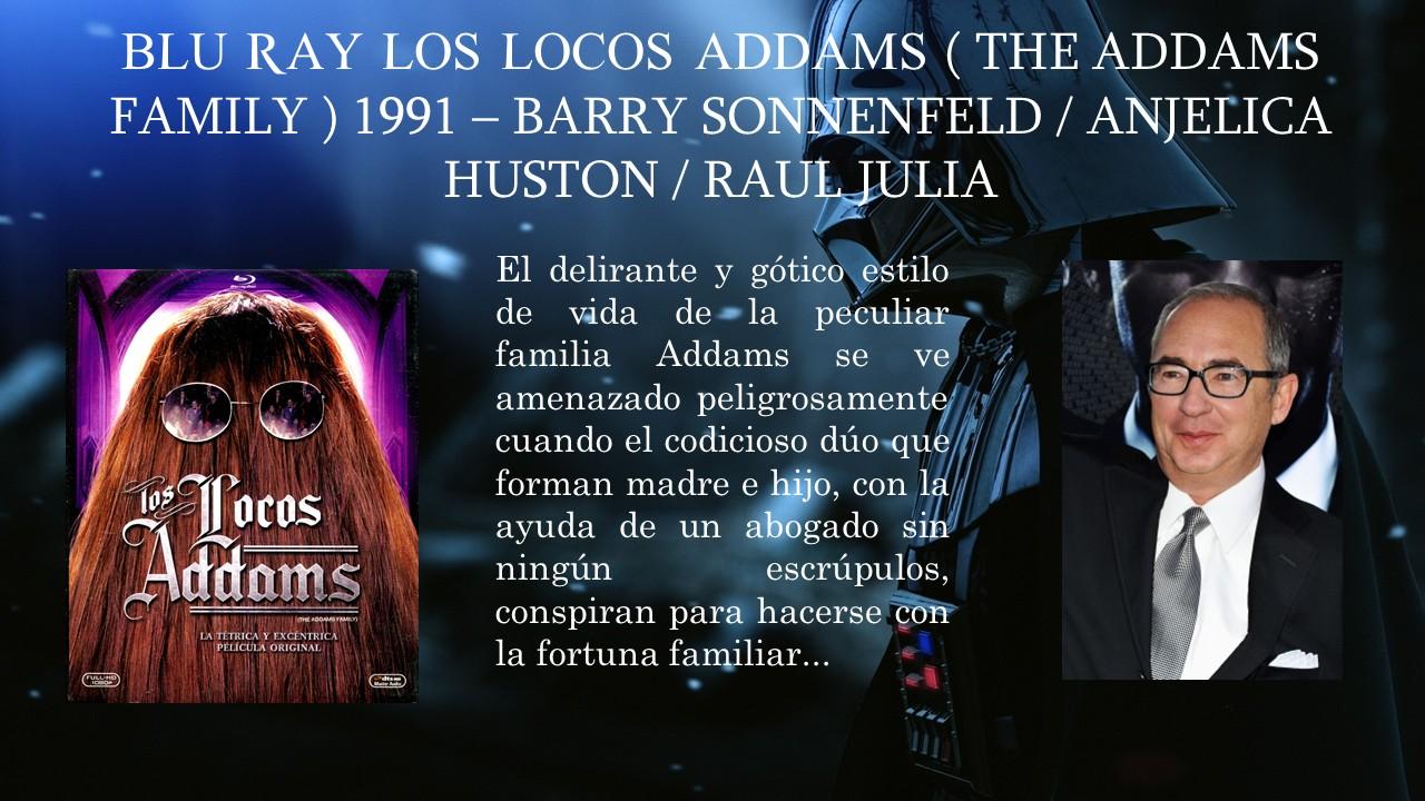 Bluray Los Locos Addams ( The Addams Family ) 1991 - Barry ...