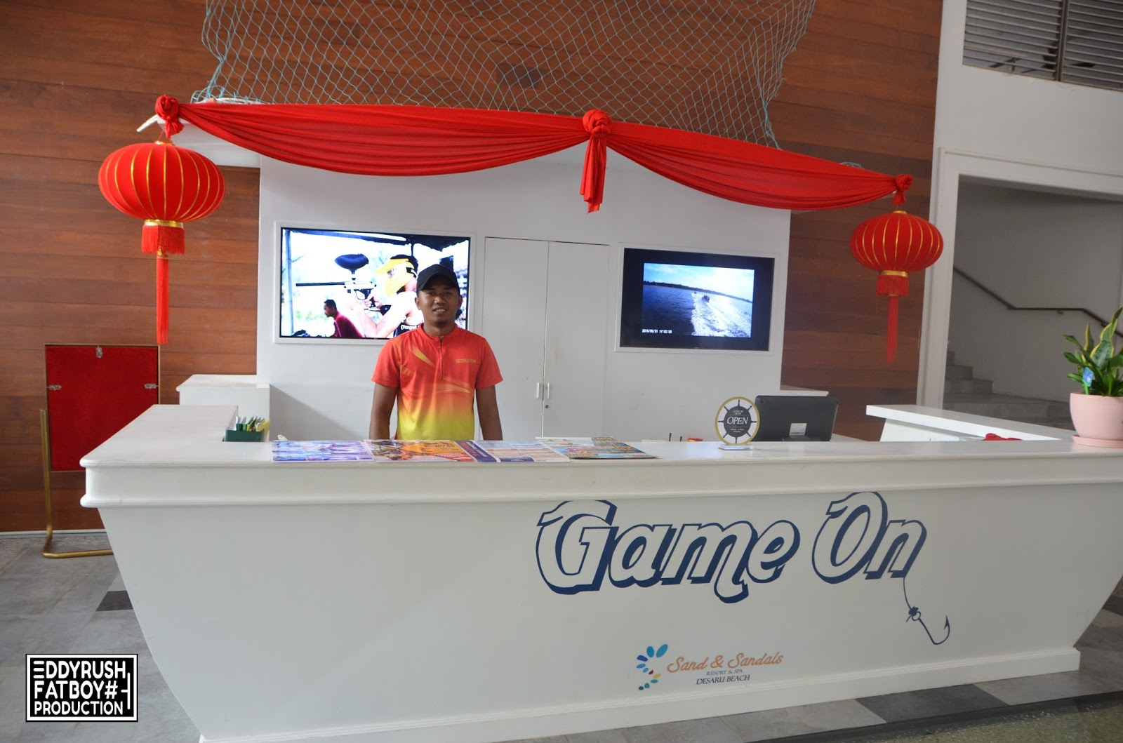 e643d00934169 Game On is the water sport counter that located at the main entrance of  Sand   Sandals