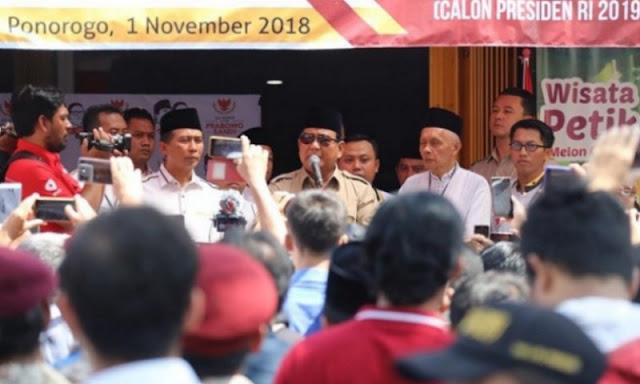 Bentak Pendukungnya Sendiri, Prabowo Dinilai Tak Layak Jadi Pemimpin di Indonesia
