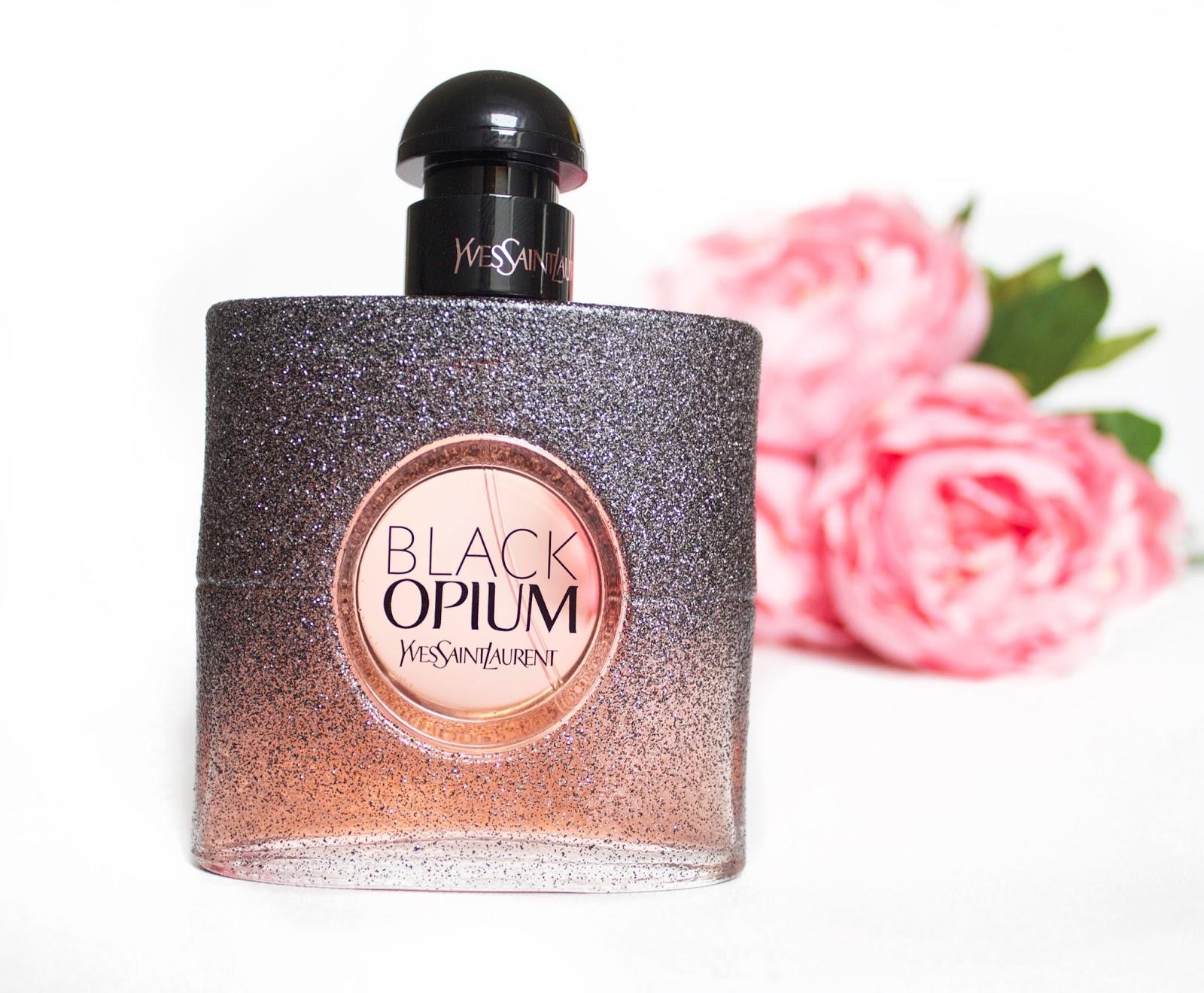 Ysl Black Opium Floral Shock Perfume Live Laugh Lipstick