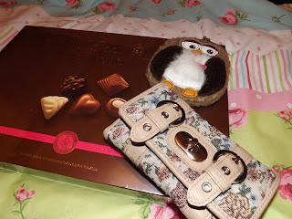 Chocolates and a purse