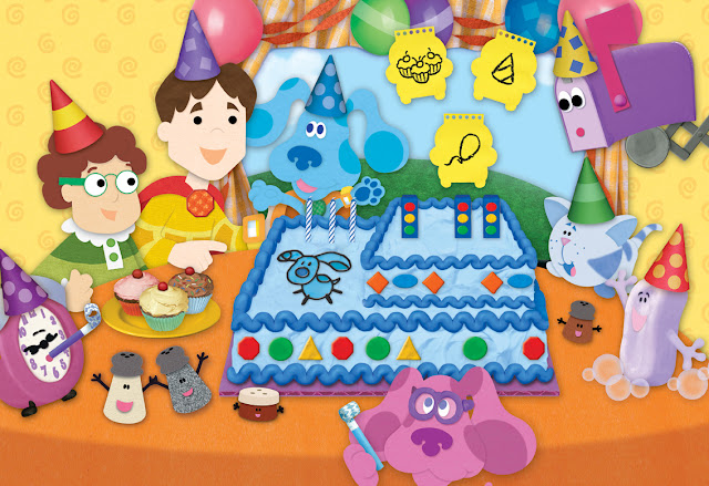 Blue Clues Free Printable Frames Invitations or Images – Blues Clues Birthday Card