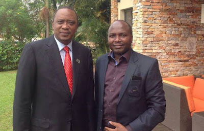 Donald Kipkorir Dumps Uhuru for Raila. PHOTO | Courtesy