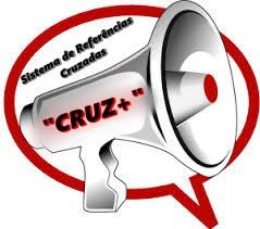 """Imagem de uma auto-falante anunciando o início do Sistema de referências cruzadas """"CRUZ+"""""""