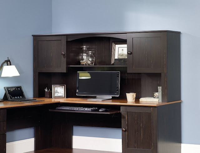 best buy cheap office furniture for home with hutch sale online