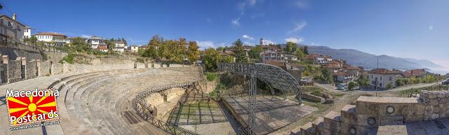 Антички театар - Охрид, Македонија