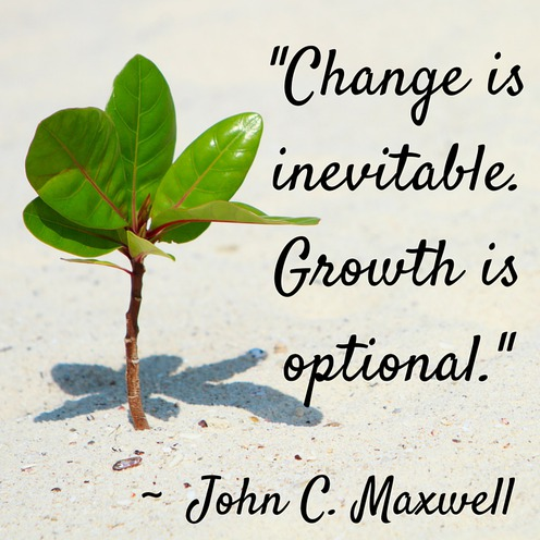 Change Is Inevitable Growth Optional