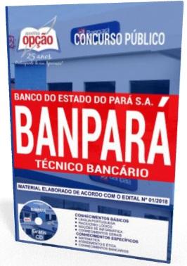 f94b17f25 Apostila concurso Banpará Técnico Bancário - Nível Médio. 15 de março de  2018