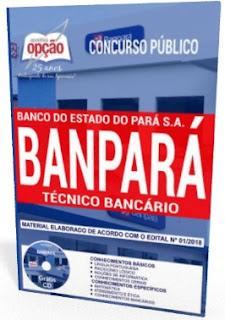 Apostila Banco do Estado do Pará TÉCNICO BANCÁRIO