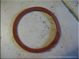 damaged rubber gasket