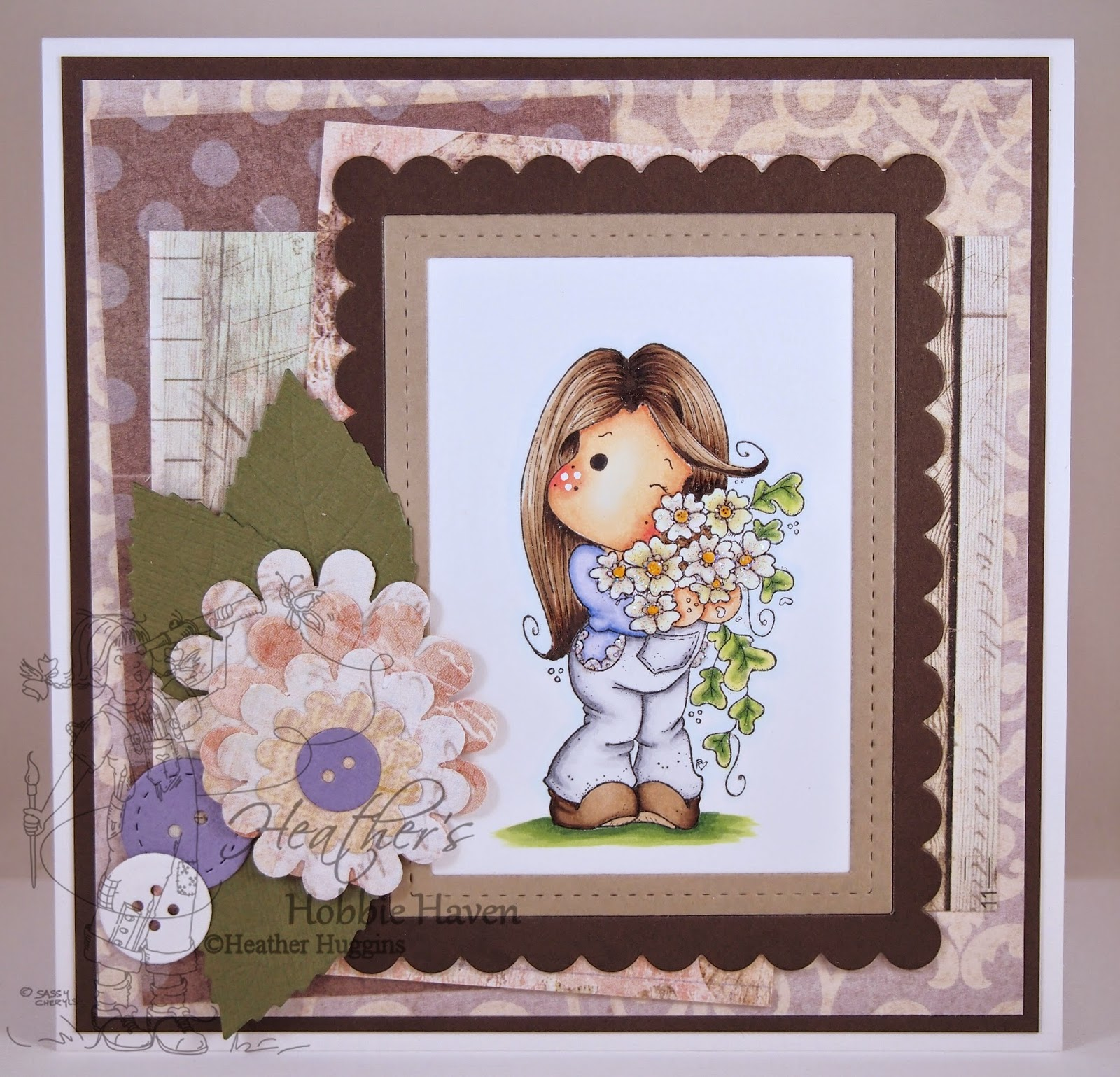 Heather's Hobbie Haven - New Year Sakura Tilda Card Kit