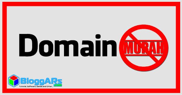 Jangan Beli Domain Murah Sembarangan, Bahaya!!