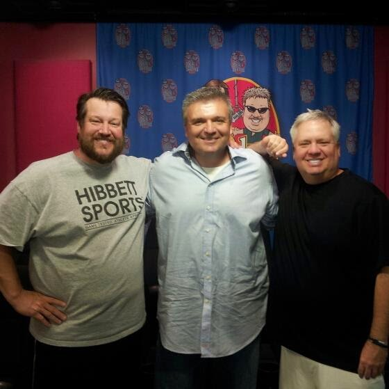 Live appearance on the Rick and Bubba Show 6-18-2013