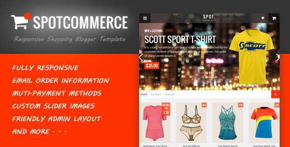 Spot Commerce Template Shop
