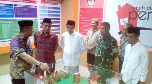 Bupati Hadiri Launching, Rumah Pintar Pemilu, KPU Selayar