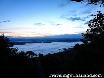 Sunrise at Doi Samer Dao in Nan - Thailand