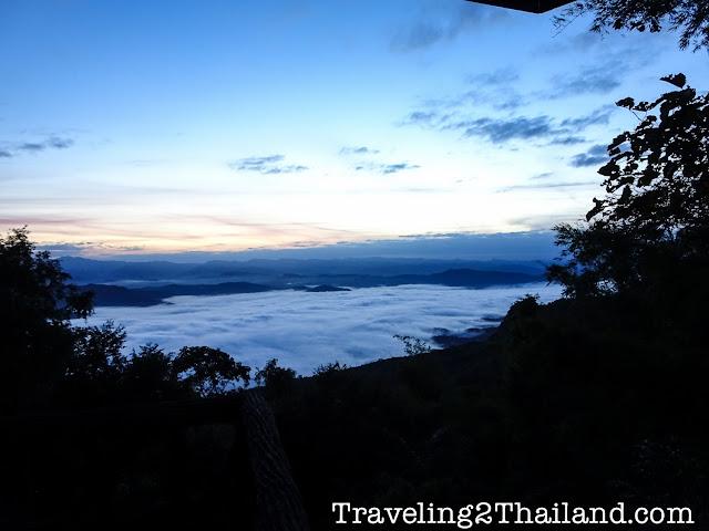 Sunrise at Doi Samer Dao in Nan - Thailand
