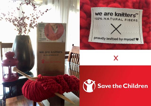 Kiddo Snood #Weareknitters x #SavetheChildren #knit4refugees
