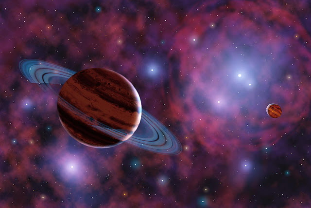 Objeto vagando no espaço