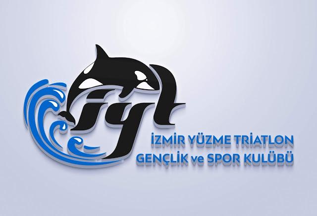 Yüzme Triatlon Gençlik Spor Kulübü Logo Tasarımı