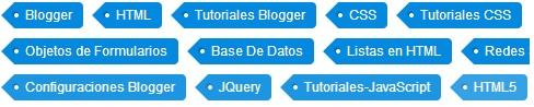 crear etiquetas en blogger