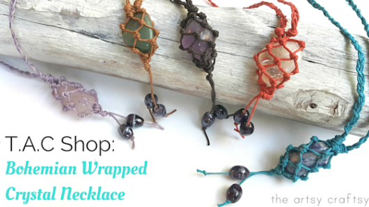 Popular in Store: Bohemian Wrapped Crystal Necklace