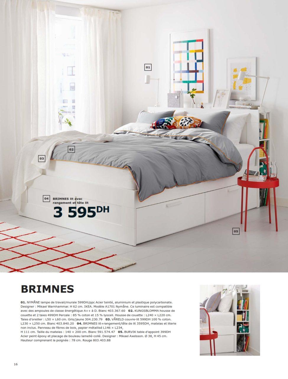 Dépliant IKEA Maroc Chambres à Coucher 2019