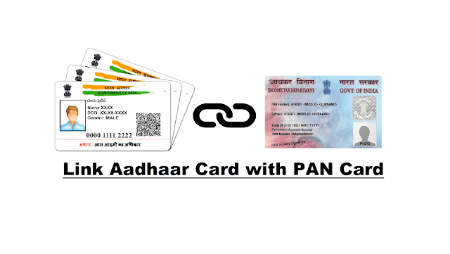 get linked your pan card with aadhar card within two days before it get bogus