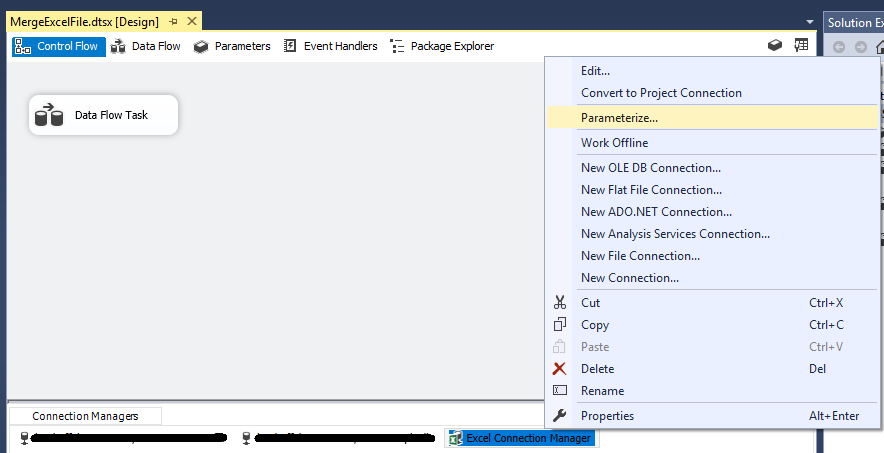 ssis design document template - etl and build data warehouse with ssis part 2 my geeks