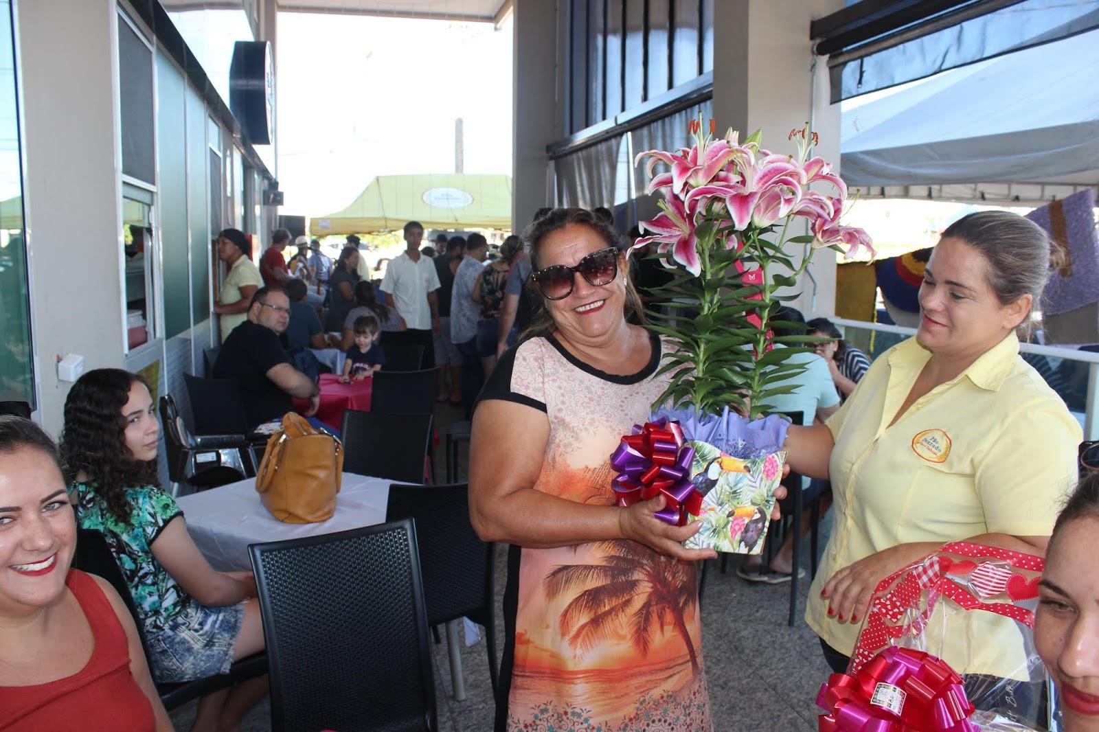 IMG 3663 - Dia 12 de maio dia das Mães no Jardins Mangueiral foi com muta diverção e alegria com um lindo café da manha