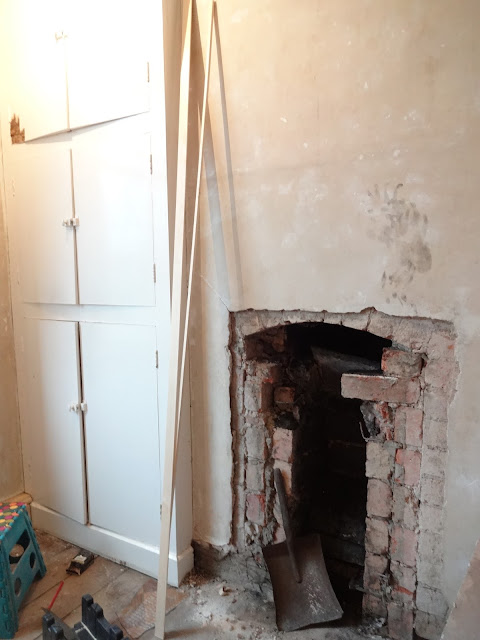 opening a bricked up chimney