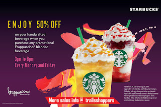 Starbucks Malaysia discount Handcrafted Beverage