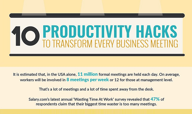 10 Productivity Hacks To Transform Every Business Meeting