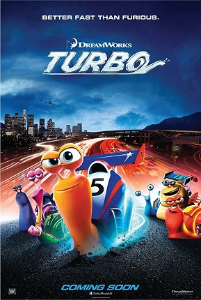 Turbo 2013 Dual Audio Hindi 300MB BluRay 480p