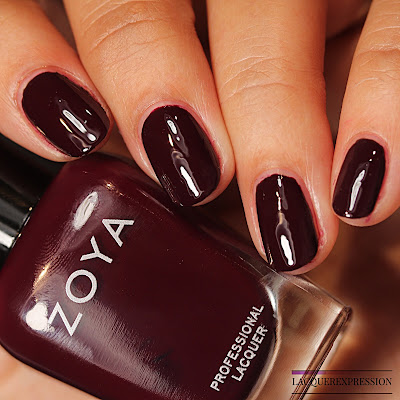 Nail polish swatch of  Rachael from the Zoya Element Fall 2018 collection