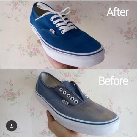 Jasa perawatan sepatu berbagai macam jenis bahan sepatu Yogyakarta ... 2da5efe35b