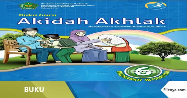 Buku Kurikulum 2013 MI Kls 6 Akidah A Revisi 2016