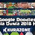 Google Doodles - Piala Dunia 2018 H-15