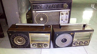 DIJUAL Radio lawas display only,,borongan 3pcs 200rb