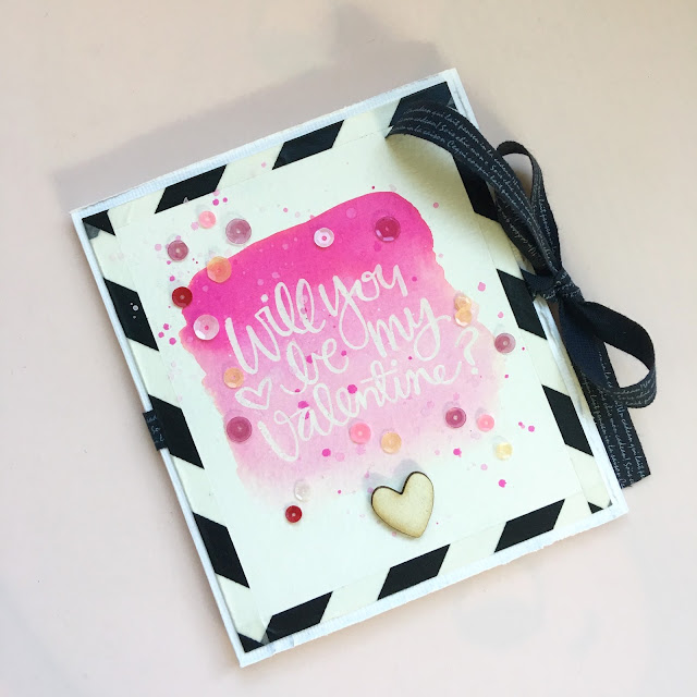 Watercolor Card by Angela Tombari INeedConfetti.Blogspot