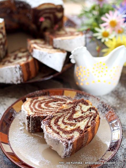 Babka zebra. Fantastyczne i proste ciasto w paski