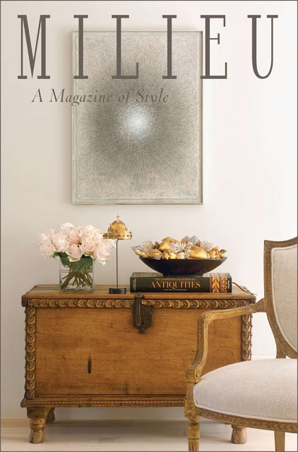 image result for Milieu magazine cover antiques roses