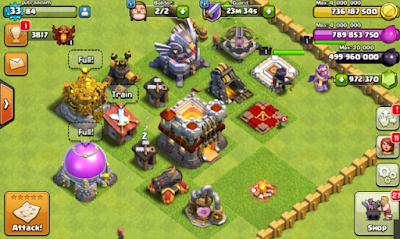 Clash of Clans Mod FHx Terbaru 2016 v8 TH 11-jembercyber-1